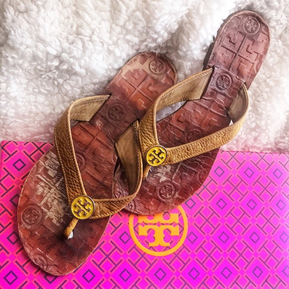 b5ff03134 Tory Burch Mustard color Thora Sandals Size 5. M 5b63942d0945e05ef325fef4